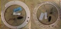 Внутренние обрамление люка для стиральных машин ELECTROLUX, ZANUSSI, AEG 1320184128