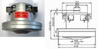 Мотор  для пылесосов 11me72