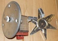 Вентилятор 59W обдува духовки 16mf07
