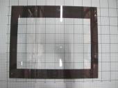 Внутреннее стекло  духовки для плиты Hansa.(9052694)