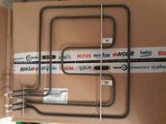 Тэн 1100W+1100W духового шкафа верхний для плит BEKO 262900064