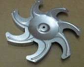 Крыльчатка вентилятора для плит Beko.(217440103)