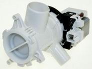 Сливной насос 30W 8 защелок в сборе к стиральным машинам Беко(2863200900)
