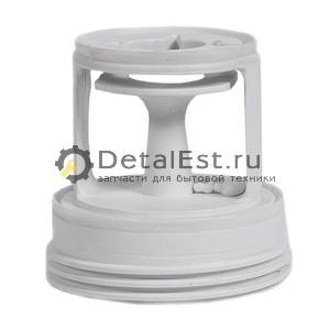 Заглушка-фильтр сливного насоса для стиральных машин CANDY,41004157