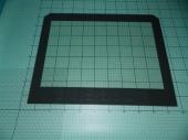 Внутреннее стекло духовки для плиты Hansa.(9052715)