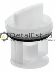 Заглушка-фильтр сливного насоса для стиральных машин BOSCH,SIEMENS 00602008
