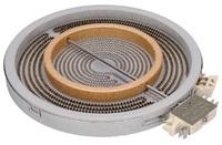 Конфорка двухзонная  2200W для стеклокерамической плиты HANSA 8001840