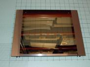 Внешнее стекло духовки 463/410 для плиты Hansa (9040423)