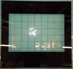 9053026 .Наружное стекло двери духовки для плиты Hansa