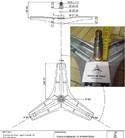 Универсальная крестовина бака для стиральных машин cod726