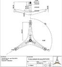 Универсальная крестовина бака для стиральных машин cod742
