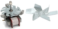 Вентилятор обдува духовки 22W,шток-45mm(COK400AC)