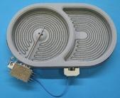 Конфорка 2000/1100W для стеклокерамической плиты GORENJE 616951