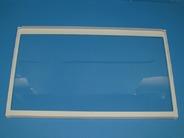 Полка стеклянная с рамкой  для холодильников GORENJE   180214