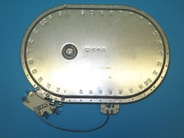 Конфорка 2400/1500W для стеклокерамической плиты GORENJE 553895