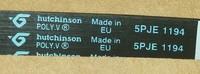 144656.Ремень ведомый 1194 J5 для стиральных машин ARISTON