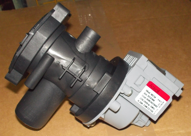 Насос-помпа 25w -34w для стиральных машин ARISTON,INDESIT 064950