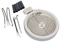 c00327340 конфорка стеклокерамика 1200w d165/d145mm